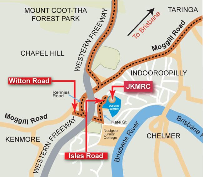 Mine Site Map Example: UQ Experimental Mine Site