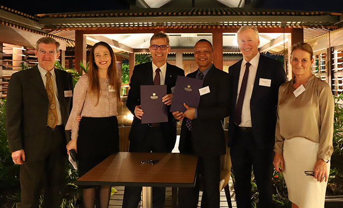 UQ Partners with PNG Univiersity to train next generation of mining leaders