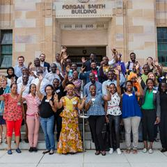 UQ welcomes Africa's emerging leaders in small-scale mining