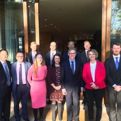 senior UQ delegation visits Chile
