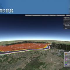 3D Water Atlas
