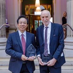 Professor Longbin Huang recognised for outstanding red-mud rehabilitation collaboration with Rio Tinto